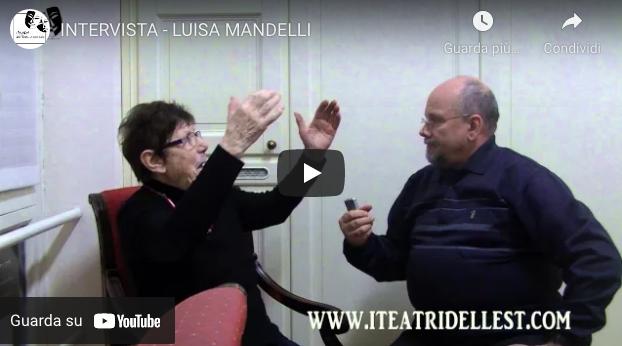Video-intervista – LUISA MANDELLI – storica Annina de La Traviata con Maria Callas – 17 Dicembre 2015
