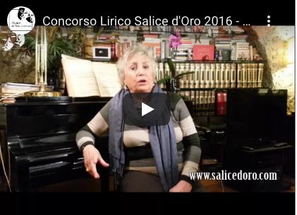 Concorso Lirico Salice d'Oro 2016 – intervista a Giovanna Lomazzi